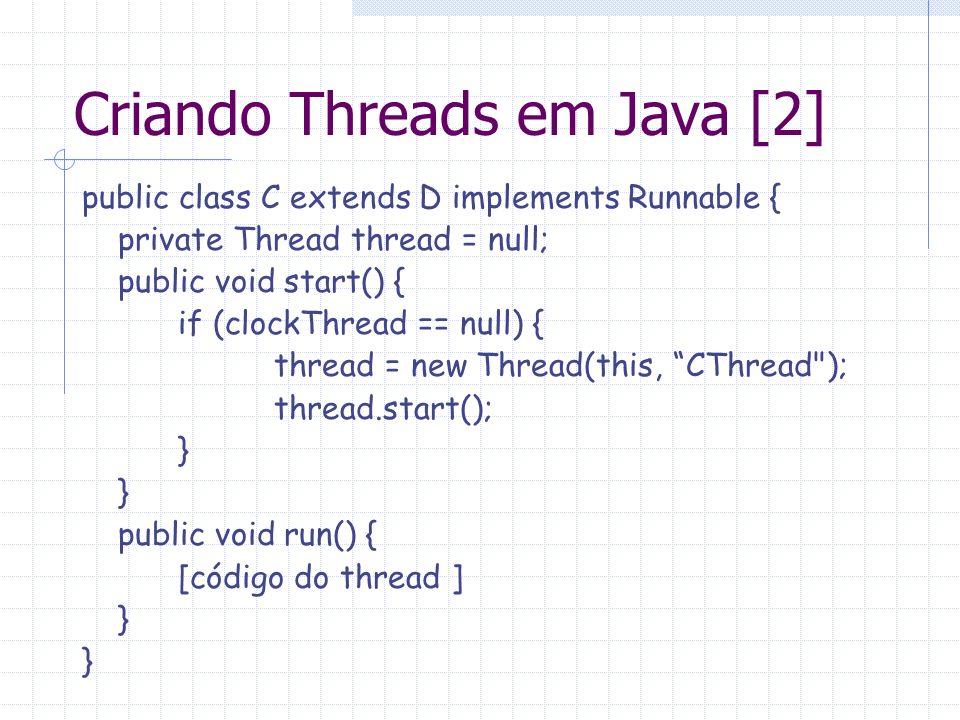 Criando Threads em Java [2]